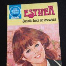 Tebeos: TEBEO ESTHER Nº. 48. JOYAS LITERARIAS JUVENILES. EDITORIAL BRUGUERA. PURITA CAMPOS. Lote 40120032