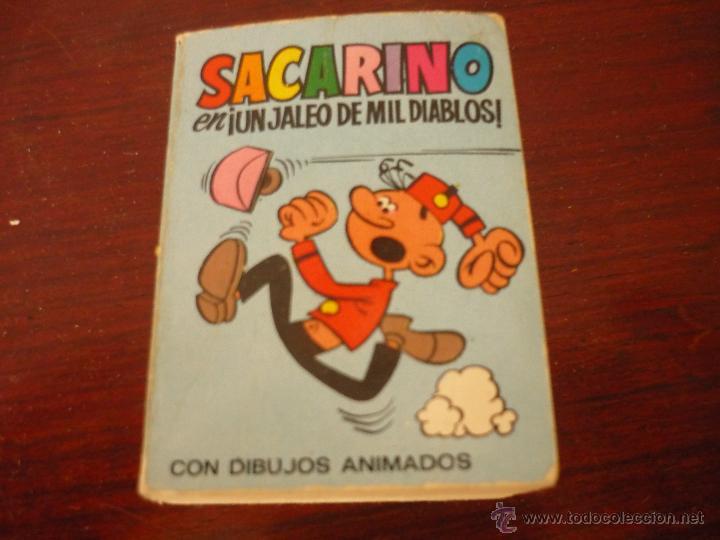 MINI INFANCIA Nº126 SACARINO UN JALEO DE MIL DIABLOS BRUGUERA. 1971 (Tebeos y Comics - Bruguera - Otros)