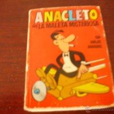 Tebeos: COLECCION MINI INFANCIA Nº135 ANACLETO EN LA MALETA MISTERIOSA 1ª EDICION 1972. Lote 40134787