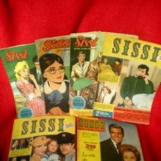 Tebeos: 6 REVISTAS DE SISSI (AÑOS 1958-59). Lote 40179247