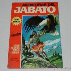 Tebeos: (M-2) AVENTURAS DEL JABATO NUM 3 , EXTRA ESPECIAL , EDT BRUGUERA 1970, LOMO CON ROTURITAS. Lote 40180620