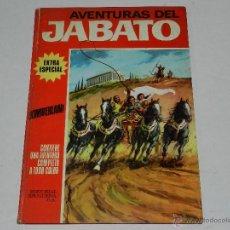 Tebeos: (M-2) AVENTURAS DEL JABATO NUM 4 , EXTRA ESPECIAL , EDT BRUGUERA 1970, LOMO CON ROTURITAS. Lote 40180645