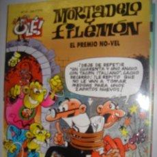 Tebeos: MORTADELO Y FILEMON. EL PREMIO NO-VEL. Nº4. EDICIONES B. GRUPO ZETA. 1995. Lote 40186373