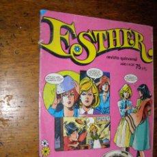 Tebeos: ESTHER.- Nº 21 - OCTUBRE DE 1982 - POSTER DE HUBERTUS -. Lote 40309065