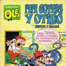 Tebeos: PEPE GOTERA Y OTILIO CHAPUZAS A DOMICILIO. COLECCION OLE NUMERO 1. Lote 40390316