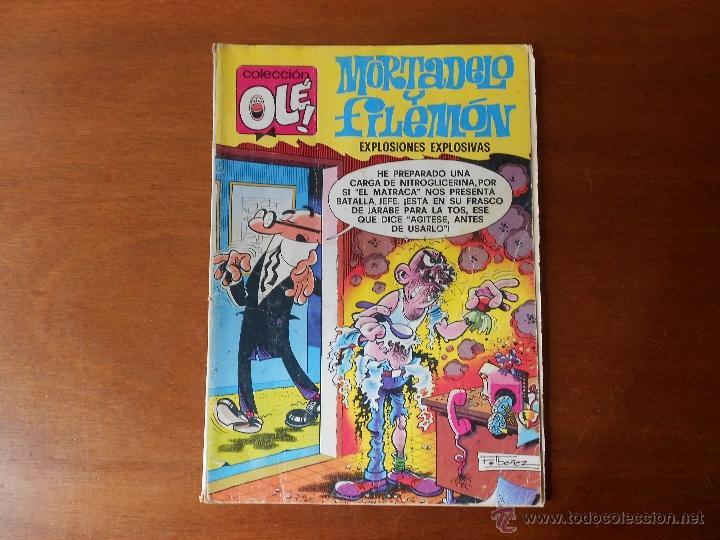 COLECCIÓN OLÉ, BRUGUERA Nº 152, MORTADELO Y FILEMÓN, 1979 (Tebeos y Comics - Bruguera - Ole)