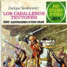Tebeos: JOYAS LITERARIAS 63 (LOS CABALLEROS TEUTONES). BRUGUERA, 1976. Lote 40426450
