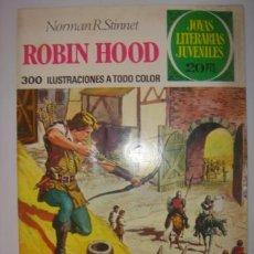 Tebeos: JOYAS LITERARIAS JUVENILES. ROBIN HOOD. NORMAN R.STINNET. Nº34. BRUGUERA. 1975. Lote 40478827
