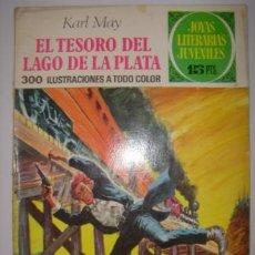 Tebeos: JOYAS LITERARIAS JUVENILES. EL TESORO DEL LAGO DE PLATA. KARL MAY. Nº55. BRUGUERA. 1972. Lote 40478892