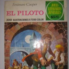 Tebeos: JOYAS LITERARIAS JUVENILES. EL PILOTO. FENIMORE COOPER. Nº57.BRUGUERA.1972. Lote 40482553