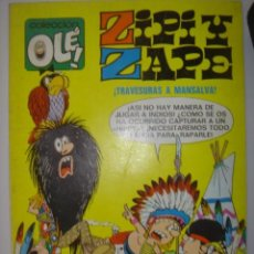 Tebeos: COLECCIÓN OLÉ. ZIPI Y ZAPE. TRAVESURAS A MANSALVA! Nº 26. 1975. Lote 40525014