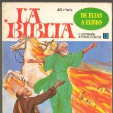 Tebeos: TEBEOS-COMICS GOYO - LA BIBLIA - Nº 13 - BRUGUERA - DIFICIL *AA99. Lote 40562729