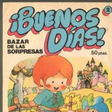 Tebeos: TEBEOS-COMICS GOYO - BUENOS DIAS - Nº 2 - JAN EL DE SUPERLOPEZ - 1979 - RARO *BB99. Lote 40575853