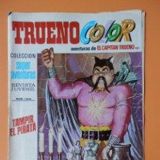 Tebeos: TRUENO COLOR. AVENTURAS DE EL CAPITÁN TRUENO, Nº 101. TAMPIR, EL PIRATA - VÍCTOR MORA. Lote 38358036