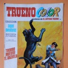Tebeos: TRUENO COLOR. AVENTURAS DE EL CAPITÁN TRUENO, Nº 30. TOCHIRO MUERDE EL ANZUELO - VÍCTOR MORA. Lote 38358039