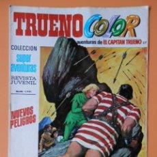 Tebeos: TRUENO COLOR. AVENTURAS DE EL CAPITÁN TRUENO, Nº 27. NUEVOS PELIGROS - VÍCTOR MORA. Lote 38358087
