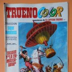Tebeos: TRUENO COLOR. AVENTURAS DE EL CAPITÁN TRUENO, Nº 77. TAGAAR Y LA ENMASCARADA - VÍCTOR MORA. Lote 38358135