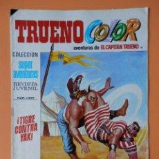 Tebeos: TRUENO COLOR. AVENTURAS DE EL CAPITÁN TRUENO, Nº 91. ¡TIGRE CONTRA YAK! - VÍCTOR MORA. Lote 38358185