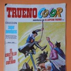 Tebeos: TRUENO COLOR. AVENTURAS DE EL CAPITÁN TRUENO, Nº 102. EL CASTILLO DEL CUERVO - VÍCTOR MORA. Lote 38358241