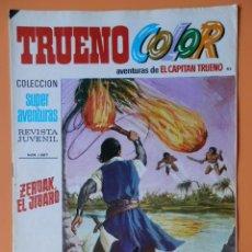Tebeos: TRUENO COLOR. AVENTURAS DE EL CAPITÁN TRUENO, Nº 45. ZERDAK, EL JÍBARO - VÍCTOR MORA. Lote 38358243
