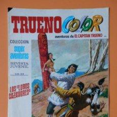 Tebeos: TRUENO COLOR. AVENTURAS DE EL CAPITÁN TRUENO, Nº 49. LOS LOBOS CAZADORES - VÍCTOR MORA. Lote 38358316