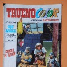 Tebeos: TRUENO COLOR. AVENTURAS DE EL CAPITÁN TRUENO, Nº 72. KRUGER, EL NEGRO - VÍCTOR MORA. Lote 38358319