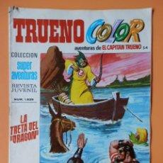 Tebeos: TRUENO COLOR. AVENTURAS DE EL CAPITÁN TRUENO, Nº 54. LA TRETA DEL DRAGÓN - VÍCTOR MORA. Lote 38358320