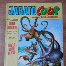 Tebeos: JABATO COLOR. AVENTURAS DE EL JABATO, Nº 96. DUELO BAJO EL SOL - VÍCTOR MORA. Lote 38358414