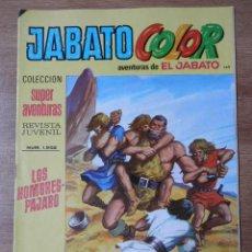 Tebeos: JABATO COLOR. AVENTURAS DE EL JABATO, Nº 149. LOS HOMBRES-PÁJARO - VÍCTOR MORA. Lote 38358601