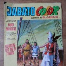 Tebeos: JABATO COLOR. AVENTURAS DE EL JABATO, Nº 98. ENCUENTRO EN EL TIGRIS - VÍCTOR MORA. Lote 38358602