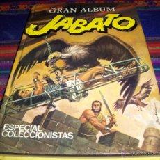 Tebeos: GRAN ALBUM JABATO ESPECIAL COLECCIONISTAS 1 2 COMPLETA. BRUGUERA 1980. MUY BUEN ESTADO. Lote 40642487