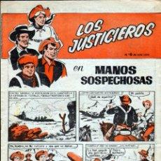 Tebeos: TEBEOS-COMICS GOYO - CUADERNOS HEROES - Nº 6 - ULTIMO - LOS JUSTICIEROS - 1964 *UU99. Lote 40664727