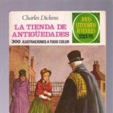 Tebeos: JOYAS LITERARIAS JUVENILES Nº 154 - LA TIENDA DE ANTIGÜEDADES - 1ª EDICION - FEBRERO 1976. Lote 40671780