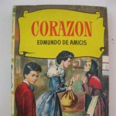 Tebeos: CORAZÓN - EDMUNDO DE AMICIS - COLECCIÓN HISTORIAS Nº 41 - EDITORIAL BRUGUERA - AÑO 1966.. Lote 194877542