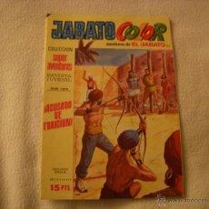 Tebeos: JABATO COLOR Nº 153, COLECCIÓN SUPER AVENTURAS, 15 PTAS, EDITORIAL BRUGUERA. Lote 40728422