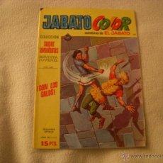 Tebeos: JABATO COLOR Nº 128, COLECCIÓN SUPER AVENTURAS, 15 PTAS, EDITORIAL BRUGUERA. Lote 40728496