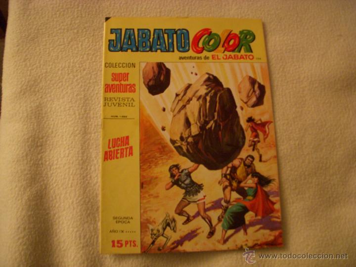 JABATO COLOR Nº 124, COLECCIÓN SUPER AVENTURAS, 15 PTAS, EDITORIAL BRUGUERA (Tebeos y Comics - Bruguera - Inspector Dan)