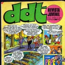 Tebeos: TEBEOS-COMICS GOYO - DDT - Nº 547 - BRUGUERA - 1967 - MUY DIFICIL - *AA99. Lote 40747273