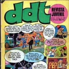 Tebeos: TEBEOS-COMICS GOYO - DDT - Nº 421 - BRUGUERA - 1967 - RARO Y DIFICIL *BB99. Lote 40747288