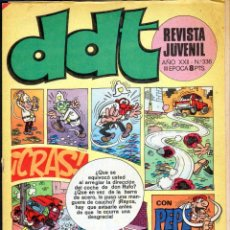 Tebeos: TEBEOS-COMICS GOYO - DDT - Nº 336 - BRUGUERA - 1967 - RARO *BB99. Lote 40747304