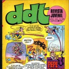 Tebeos: TEBEOS-COMICS GOYO - DDT - Nº 325 - BRUGUERA - 1967 - RARO *AA99. Lote 40747317