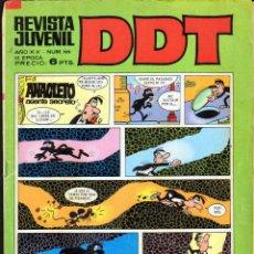 Tebeos: TEBEOS-COMICS GOYO - DDT - Nº 199 - BRUGUERA - 1967 - RARO *BB99. Lote 41292541