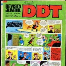 Tebeos: TEBEOS-COMICS GOYO - DDT - Nº 198 - BRUGUERA - 1967 - RARO *BB99. Lote 40747346