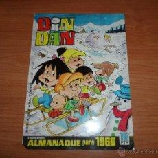 Tebeos: DIN DAN ALMANAQUE 1966 EDITORIAL BRUGUERA. Lote 40757823