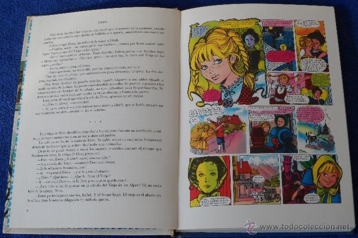 Tebeos: Historias Famosas - Heidi (1ª edición 1974) - Foto 3 - 40759228