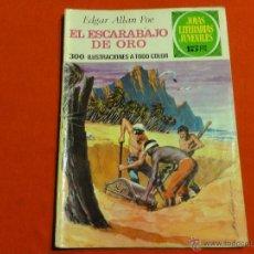 Tebeos: JOYAS LITERARIAS JUVENILES Nº 88. EL ESCARABAJO DE ORO. 1ª EDICIÓN.. Lote 163085842