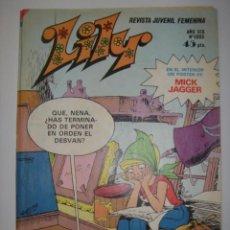 Tebeos: REVISTA JUVENIL FEMENINA. LILY. AÑO XIX. Nº 1083. BRUGUERA. 1982. Lote 40785268