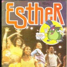 Tebeos: TEBEOS-COMICS GOYO - ESTHER - Nº 110 - BRUGUERA - 1983 - MUY DIFICIL - POSTER DE LUIS MIGUEL *AA99. Lote 40808020