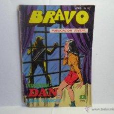 Tebeos: BRAVO Nº 60 - INSPECTOR DAN CONTRA FUMANCHU. Lote 40823209