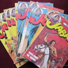 Tebeos: JABATO ÁLBUM COLOR. COLECCIÓN COMPLETA. 12 EJEMPLARES. EDITORIAL BRUGUERA 1980 TEBENI MUY BUENOS. Lote 40824243